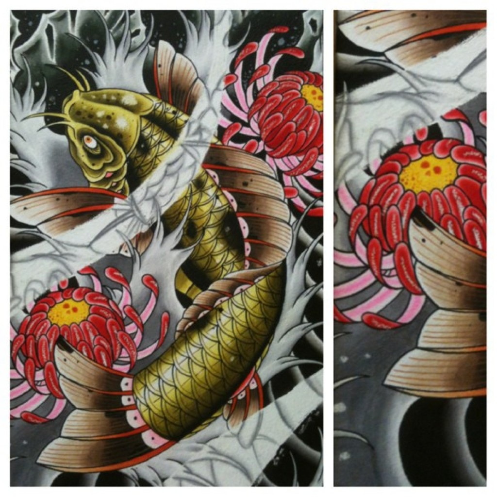 The meaningful symbolism behind a koi fish tattoo best for The best koi fish