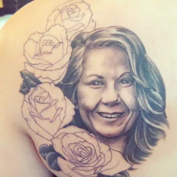 Portrait at Mantra Tattoo Studio in Denver