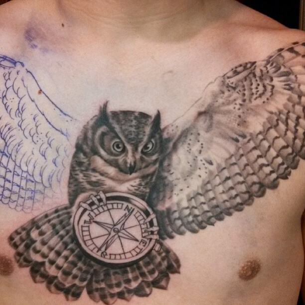 The Meaning Of The Owl Tattoos Best Tattoo Piercing Shop