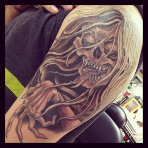Chris Yaws tattoo