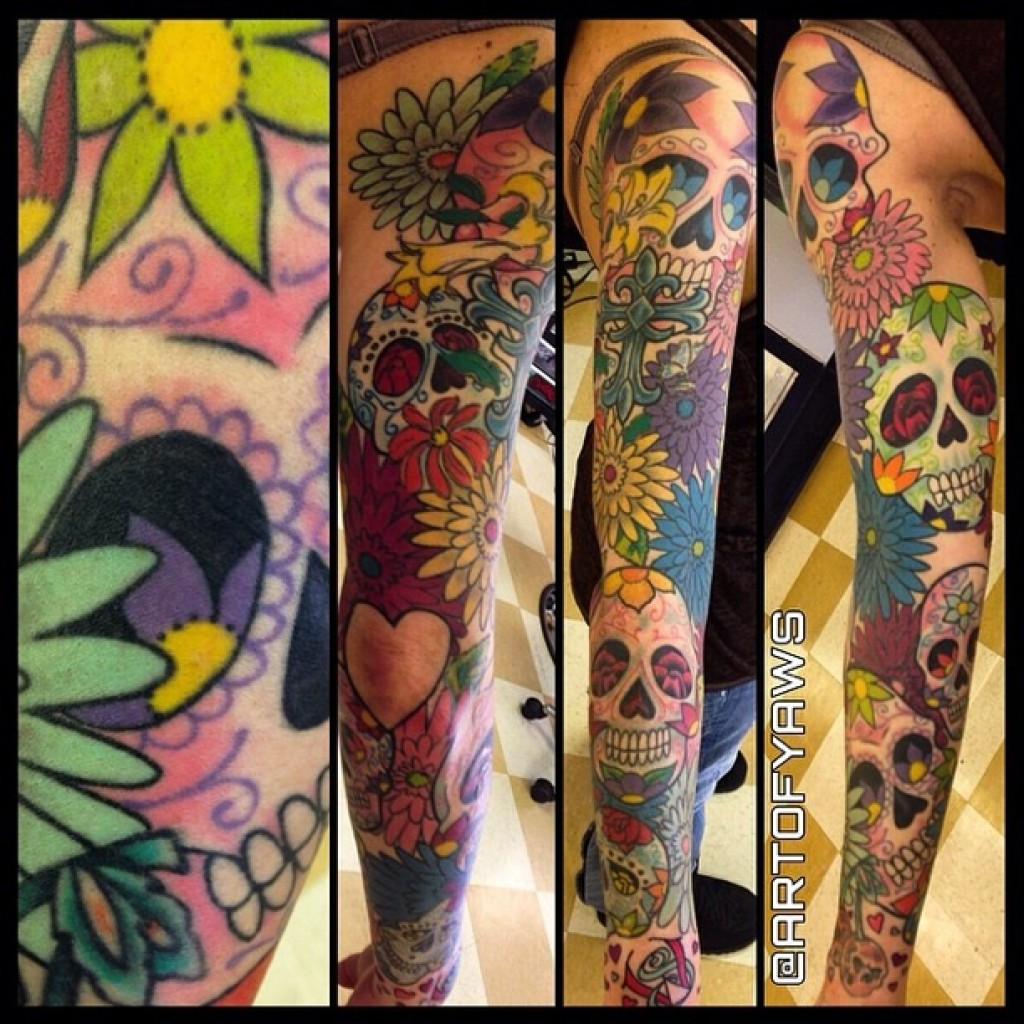 Get the best sleeve tattoos in denver at mantra tattoo for Best tattoo artist in colorado springs