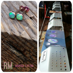 Neometal Piercing Jewelry at Mantra