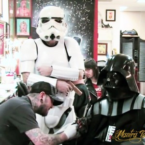 Darth Vader at Mantra Tattoo