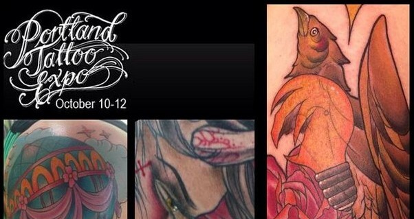 Ben gun at the portland tattoo expo this weekend best for Tattoo shops in portland oregon