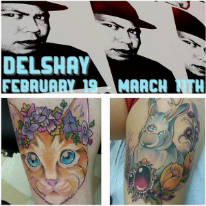 Hawaii Tattoo artist Delshay