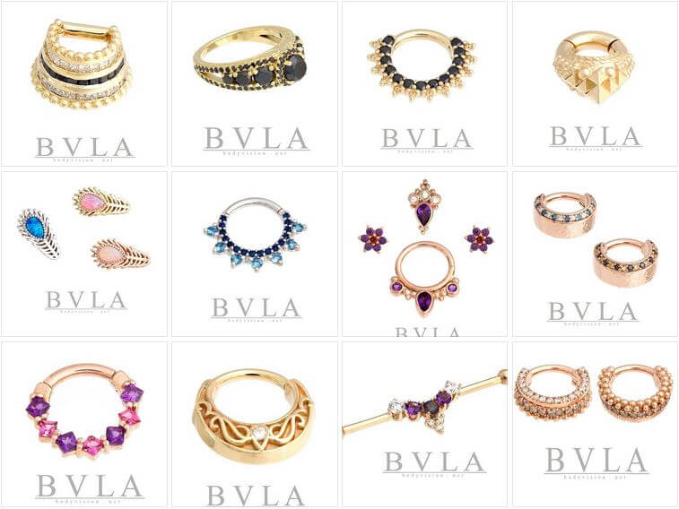 Bvla World S Finest Body Jewelry Available At Mantra Tattoo