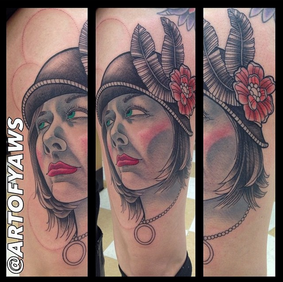 Tattoo by Chris Yaws