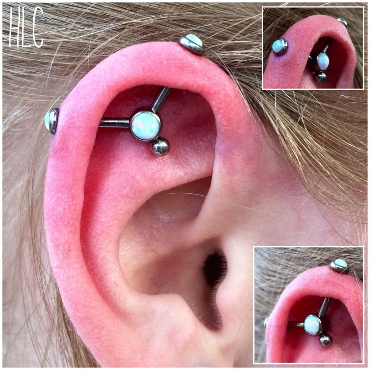 Industrial piercings at mantra tattoo best tattoo for Piercing salon