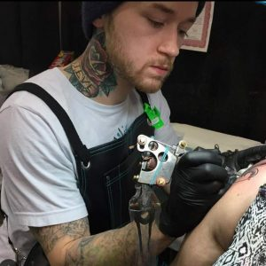 Colorado professional tattooer
