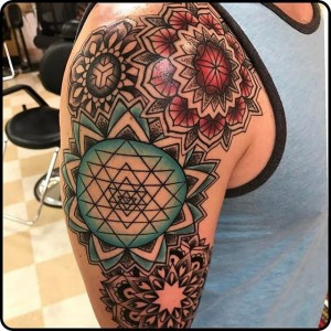 Denver Geometric tattoos