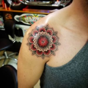 get a Mandala tattoo in Denver