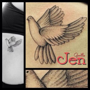 Dove Bird Tattoo