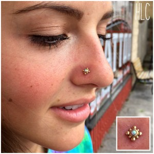 types of nose jewelry
