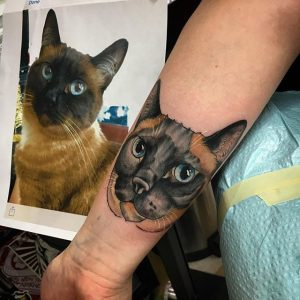 pet tribute tattoo