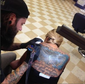 get your new tattoo text in Colorado